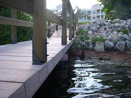 timber bracket railing
