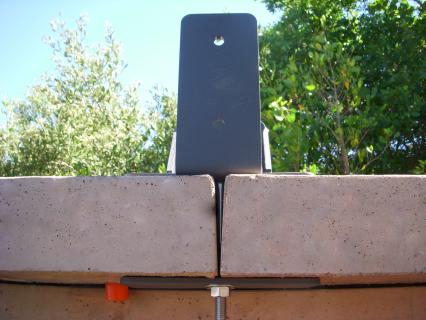 timber railing bracket permatrak