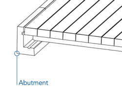 abutment component