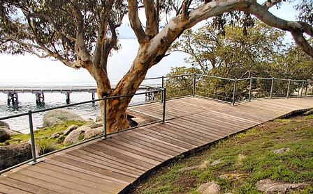 no maintenance concrete boardwalk