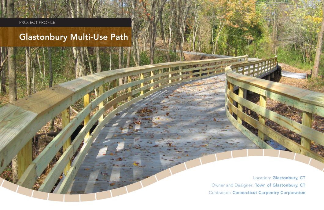 Glastonbury Multi Use Path Trail Design