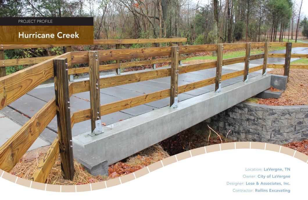 Hurricane Creek Pedestrian Bridges