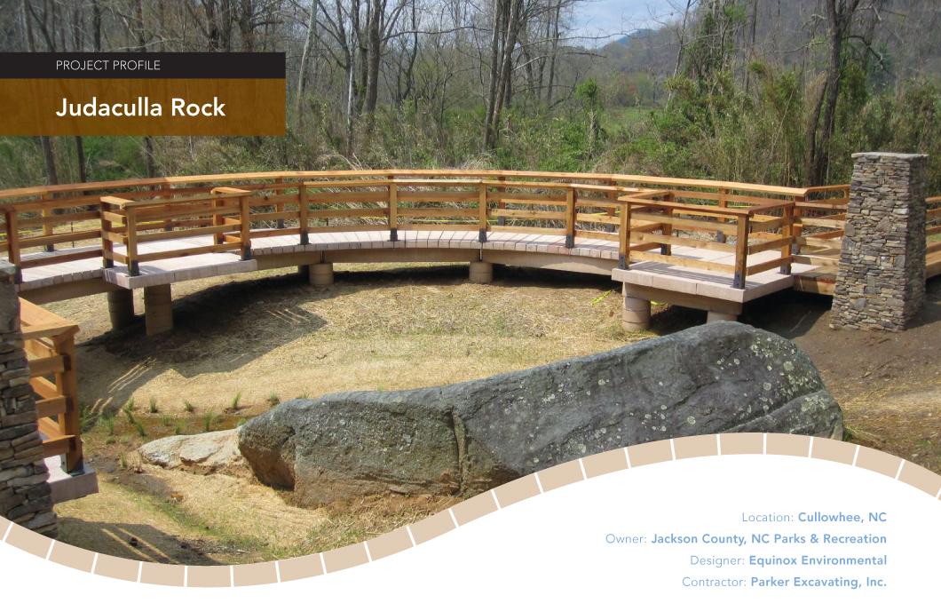 Judaculla Rock Observation Deck