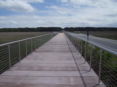 multi use path concrete boardwalk chincoteague
