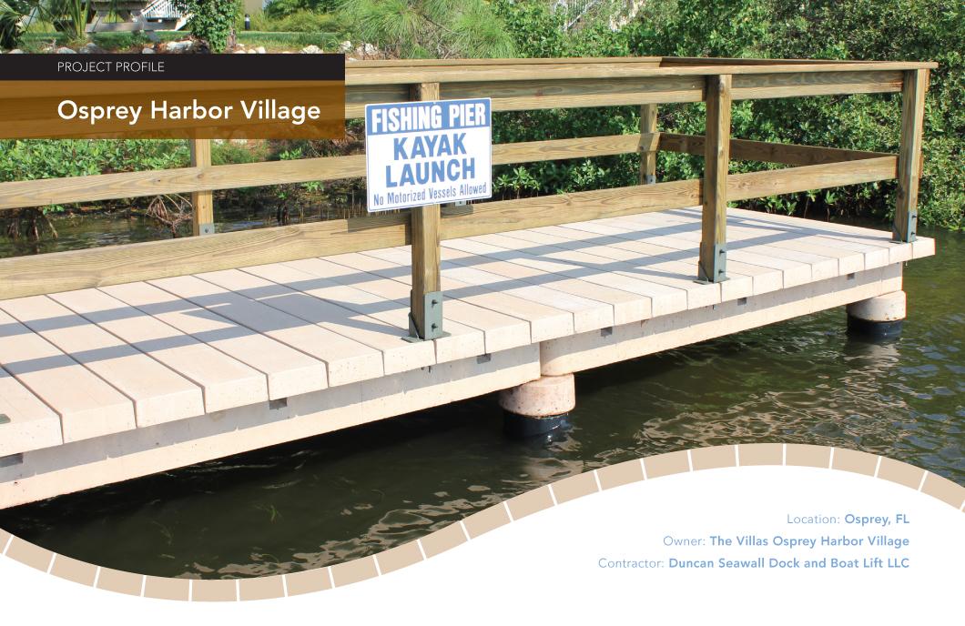 Osprey Harbor Village Observation Deck Coastal Construction