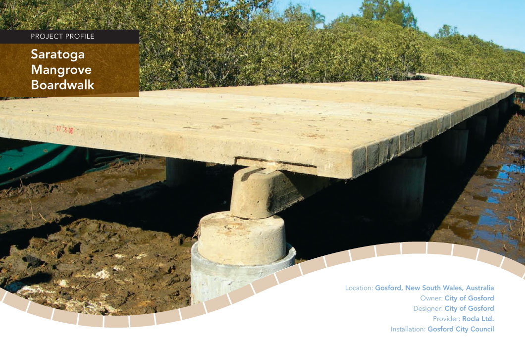 Saratoga Mangrove Boardwalk project profile