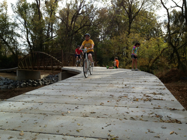 Bike Trail Segment at McMullen Greenway resized 600