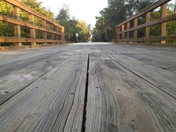 Longitudinal Gaps on Timber Boardwalk Bridge resized 600