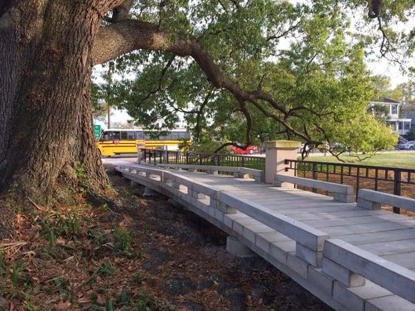 Charleston Concrete Boardwalk