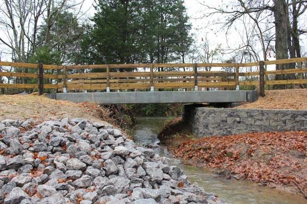 Concrete Stream Crossing