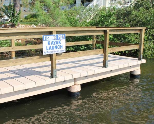 Coastal Concrete Boardwalk
