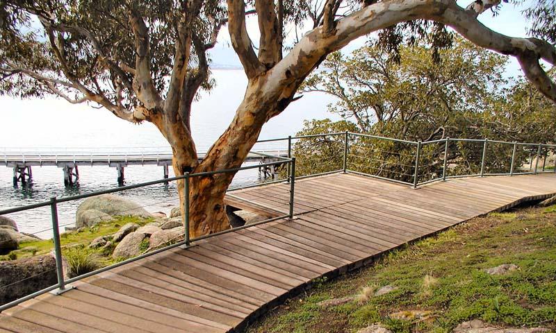 Granite Island Concrete Boardwalk