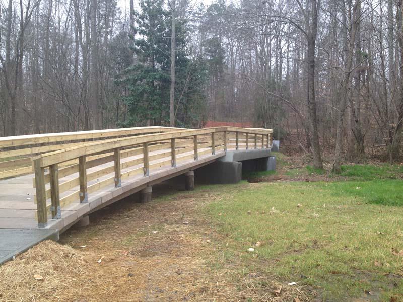 MacDonald Woods Floodplain Crossing Longitudinal View