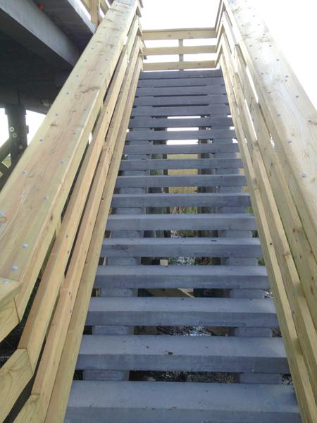 BlackwaterWildlifeRefuge Observation Area Stairs