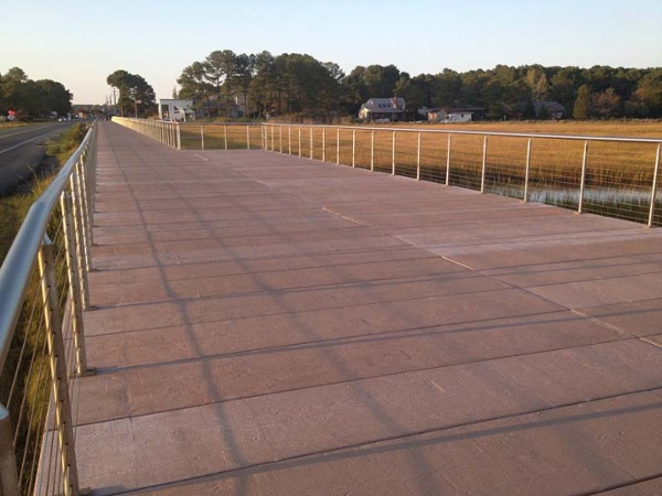 Chincoteague US Fish and Wildlife Concrete Boardwalk