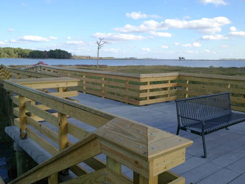 Blackwater Wildlife Refuge Observation Area