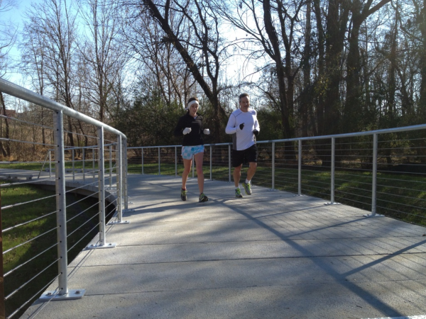 lower mcalpine creek greenway   dad and daughter runners resized 600