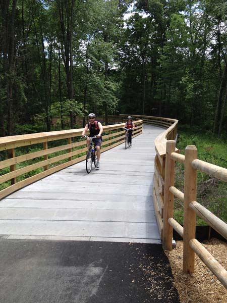 Glastonbury Multi Use Path Cyclists