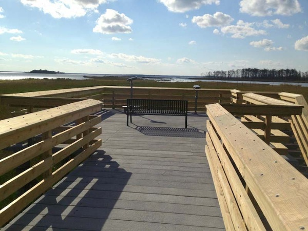 PermaTrak Elevated Platform - Blackwater US Fish and Wildlife 10-2012