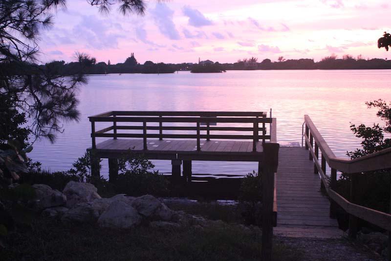 PermaTrak Boardwalk at Sunset