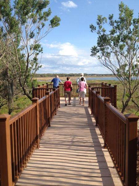 PermaTrak Boardwalk and Pier - The Villages, FL