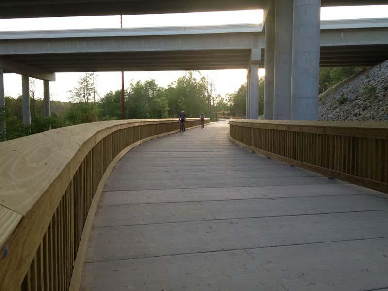 Cyclists_on_White_Oak_Greenway_-_PermaTrak
