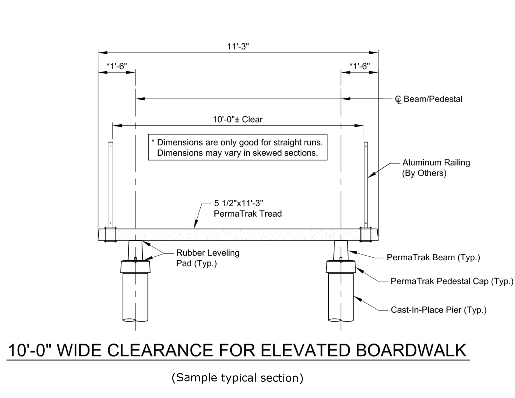 boardwalk design detail engineering