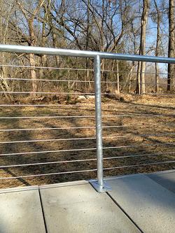 Galvanized Steel Railing   Transparent Style resized 600