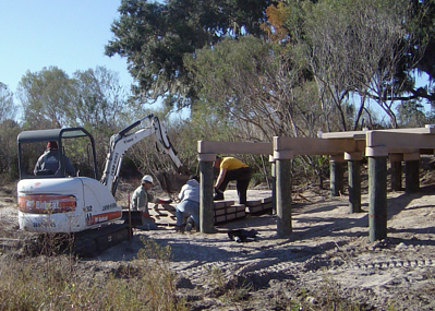 boardwalk construction excavator resized 600