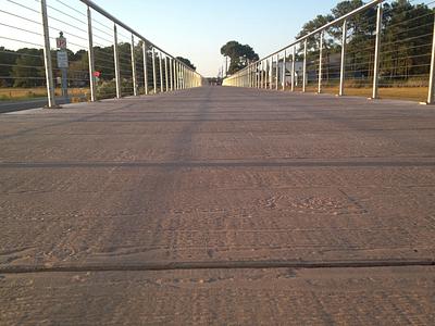 boardwalk smooth surface
