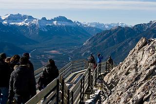 boardwalk on a mountain resized 600