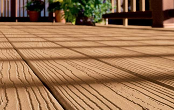 Envision composite decking vs permatrak concrete for Evergrain decking vs trex