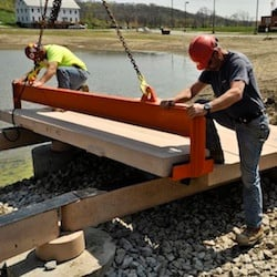 permatrak boardwalk installation