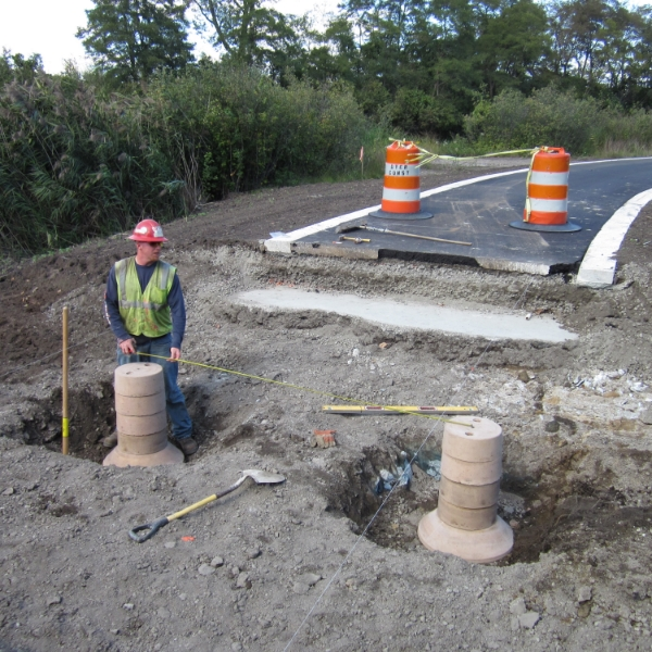 precast concrete piers