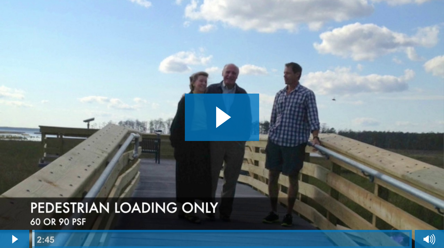 Boardwalk Design Process - How to Evaluate Live Loading Requirements