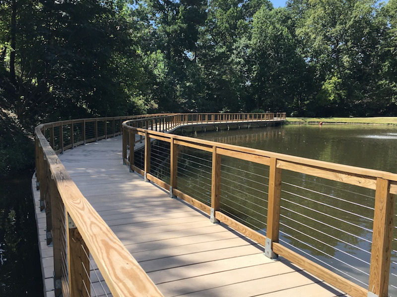 PermaTrak Boardwalk Installed at Adams Park – Atlanta, GA
