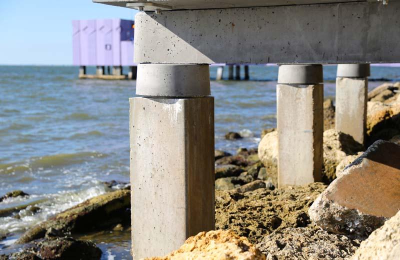 sarasota van wezel pier foundations