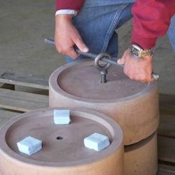 Precast Concrete Piers Risers