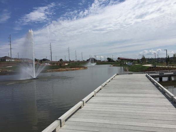 Joplin Park PermaTrak Concrete Boardwalk