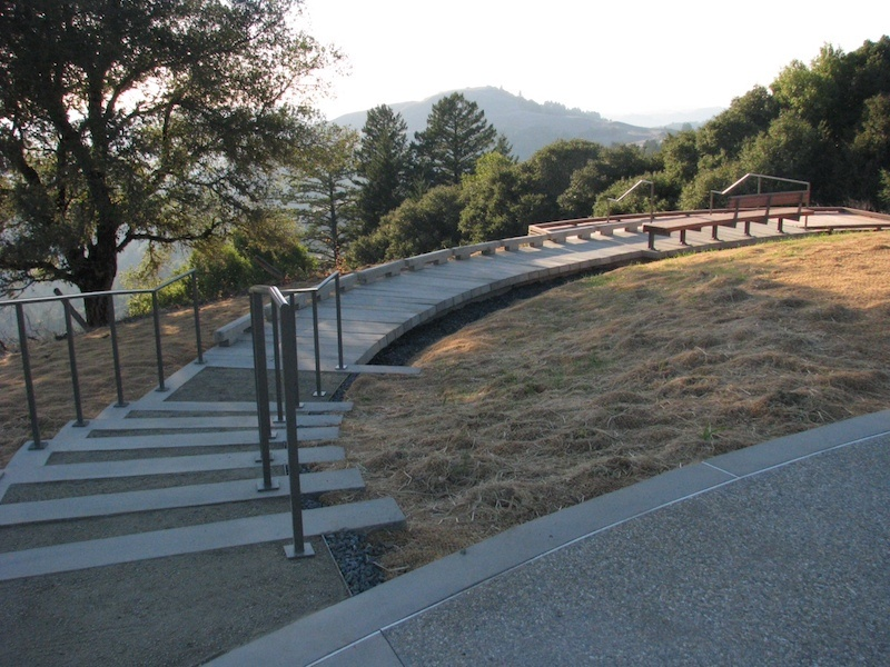 Russian Ridge Concrete Boardwalk PermaTrak California