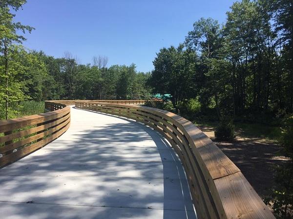 Farmington Canal Trail Permatrak Concrete Boardwalk