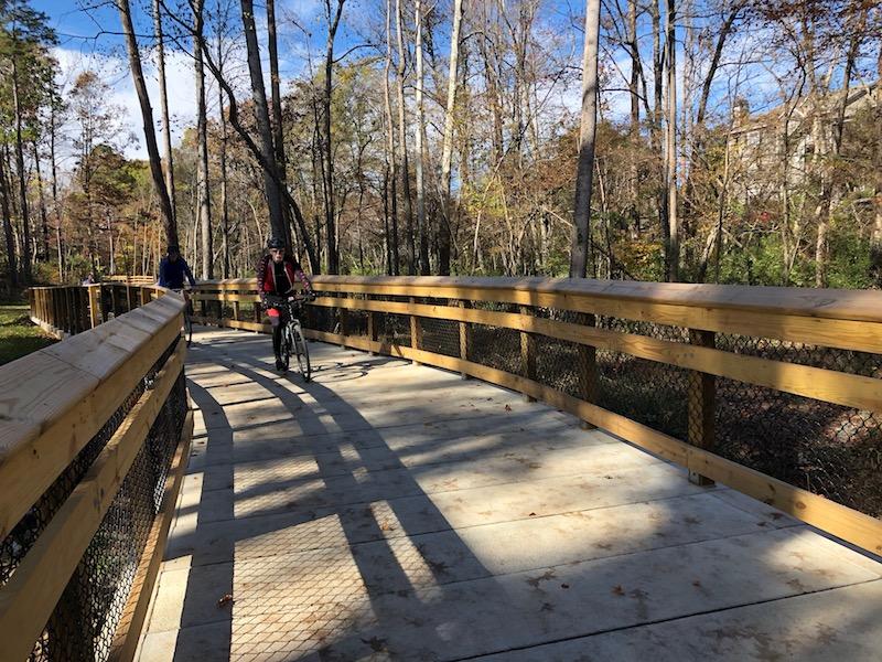 Campbell Creek Pedestrian Bridges