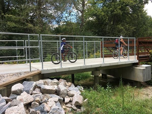 Smith And Sanford Greenway Pedestrian Bridge
